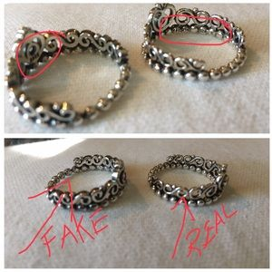 913470806 Pandora Jewelry - Pandora Careful don't buy fake Pandora crown rings